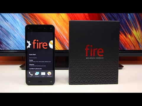 Amazon Fire Phone Unboxing & First Look!
