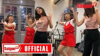 """Phạm Quỳnh Anh uống say lầy lội nhảy """"sexy dance"""" cùng Trang Hý"""