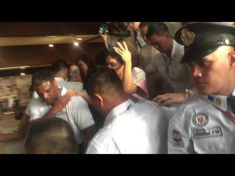 Miss Universe 2015 Pia Wurtzbach visits House of Representatives
