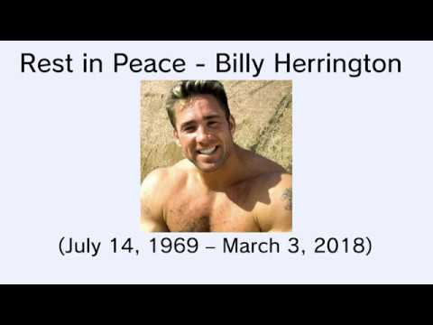R.I.P Billy Herrington (Aniki/兄貴)