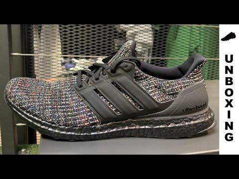 adidas Ultra Boost 3.0 Black Multi