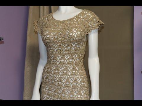 Vestidos de crochet mujer paso a paso