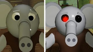 ROBLOX PIGGY 2 NEW JUMPSCARE INFECTED VS NON INFECTED