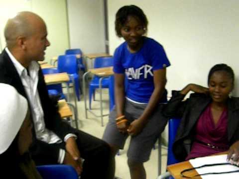 Group One Polytechnic of Namibia Media Student year 1