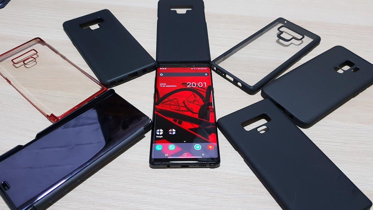 0e2df3b5f2d Las mejores fundas para el Samsung Galaxy Note 9 - YouTube