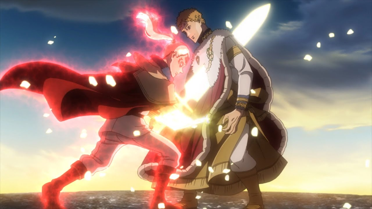 Wizard King Julius Vs Licht English Dub 60fps Youtube Julius novachrono 「ユリウス・ノヴァクロノ yuriusu novakurono」 is the 28th magic emperor of the clover kingdom's magic knights.45 he is also a former captain of the julius's family name is composed of nova (latin for new) and chrono (greek for time). wizard king julius vs licht english dub 60fps