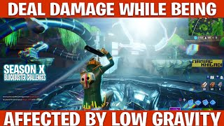 DEAL DAMAGE WHILE BEING AFFECTED BY LOW GRAVITY | BLOCKBUSTER CHALLENEGS | SEASON X