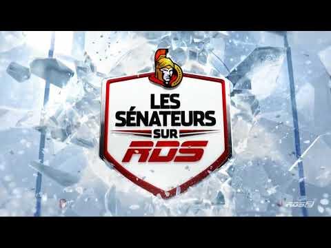 Générique 2017-18 pour le Hockey des Sénateurs d'Ottawa sur RDS