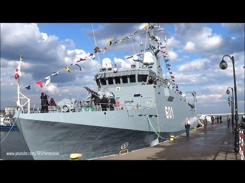 Zwiedzanie ORP Kormoran (601) // Visiting Polish Navy ORP Kormoran (601)