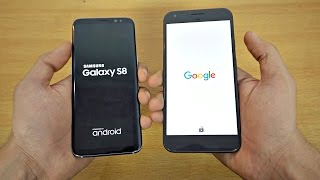 Samsung Galaxy S8 vs Google Pixel XL Speed test comparison. Can the...