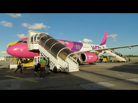 Wizzair Airbus A320-232 Gdansk to Liverpool   Full Flight