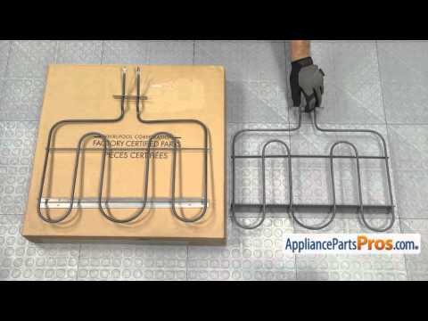 How To: Whirlpool/KitchenAid/Maytag Oven Bake Element WPW10276482