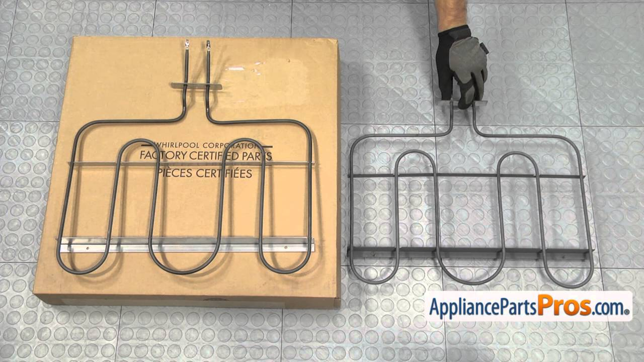 Range Oven Bake Element Part Wpw10276482 How To Replace Youtube Elec Diagram Parts List For Model Mde6800ayw Maytagparts Dryer