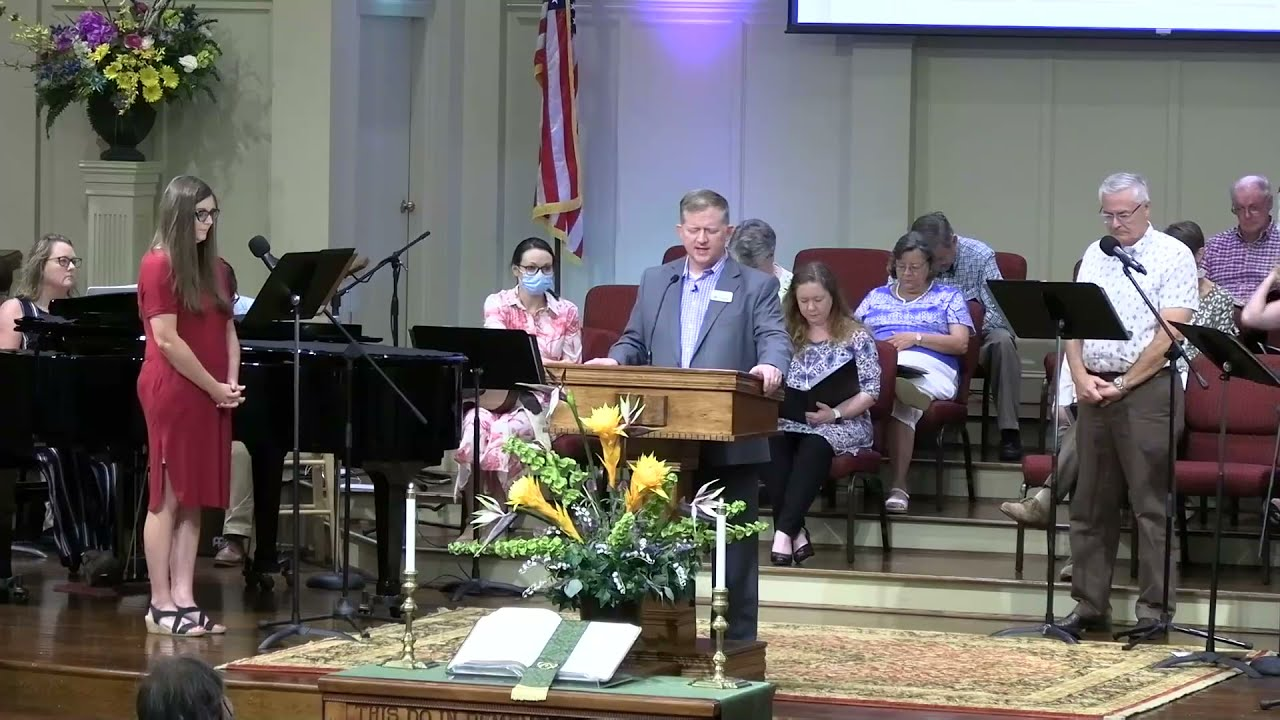 August 22, 2021 Service [Trimmed] at First Baptist Thomson, Streaming License 201531172