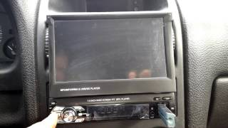"1 din 7"" monitor car Mp5 player  without GPS function.   from TomTop.com"