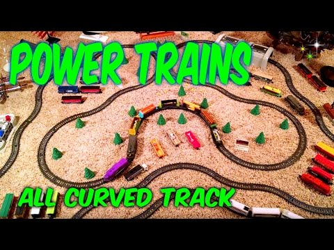 Power Trains - Nothing but Curved Track
