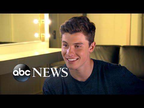 Shawn Mendes Backstage on Nightline | ABC News