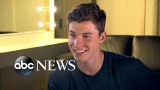 Shawn Mendes Backstage on Nightline   ABC News
