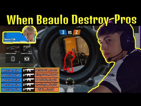 Beaulo INSANE [ Rush + Ace ] Against Team Liquid To Win Pro League Finals - Rainbow Six Siege