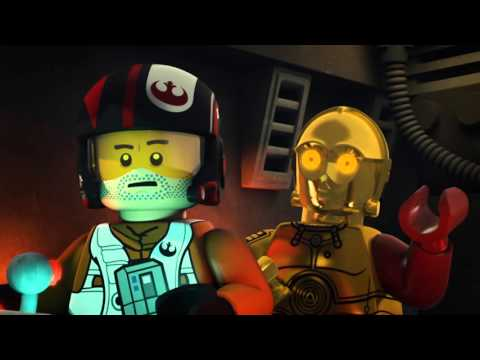Poe to the Rescue | LEGO Star Wars: The Resistance Rises | Disney XD