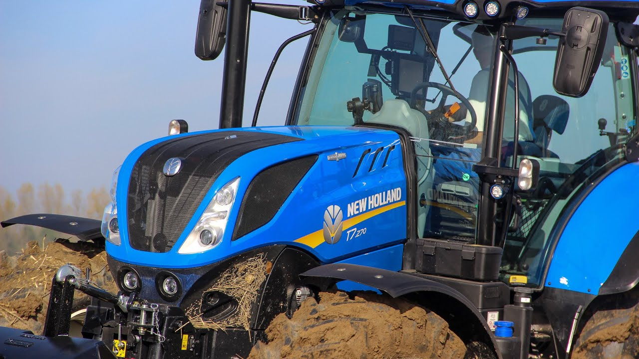 new new holland tier 4b ploughing pfl gen ploegen youtube. Black Bedroom Furniture Sets. Home Design Ideas