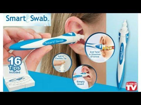Smart Swab – тампон за почистване на уши с 16 резервни глави TV21 11