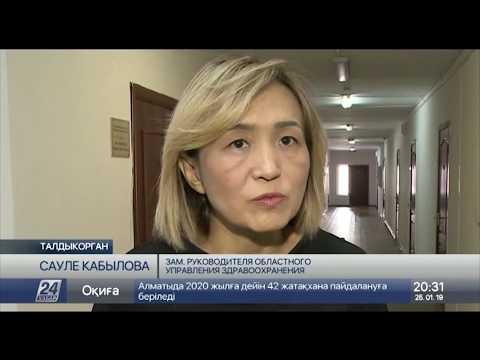В Талдыкоргане женщина