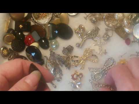 Antiques Thrift Store Jewelry Haul