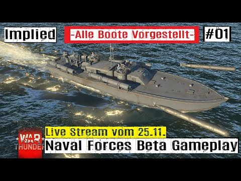 War Thunder Naval Forces pre Beta First Battle all Nations. #01