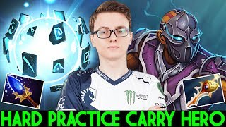 MIRACLE Anti Mage & IO Hard Practice Carry Hero in Ranked 7.24 Dota 2