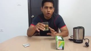 Nutrus Green coffee Review (First Instant Green Coffee)