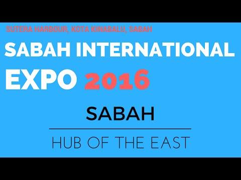 SABAH INTERNATIONAL EXPO 2016 | WALKTHROUGH