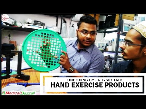 Hand Gripper | Power Web | Hand Exercise Equipments Unboxing | Medicalbazzar.com | Physiotherapy |