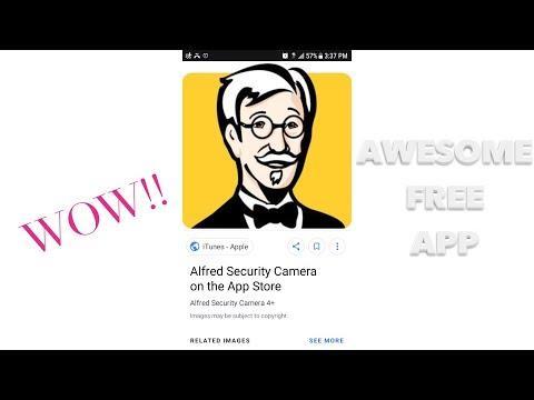 Alfred Security Cam App