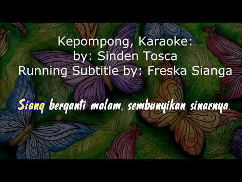 #Sinden_Tosca_Kepompong #Karaoke_Version Lagu Venomenal, Kepompong: Sinden Tosca, Karoke (Lyrics)