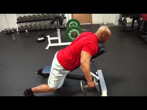 Chest Supported Bent-Over Lateral Raise