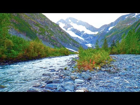 River Sleep Sounds White Noise | Nature Audio For Sleeping, Relaxing, Stress Relief | Alaska Stream