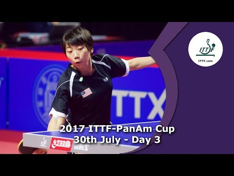 2017 ITTF-PanAm Cup Day 3 - Afternoon