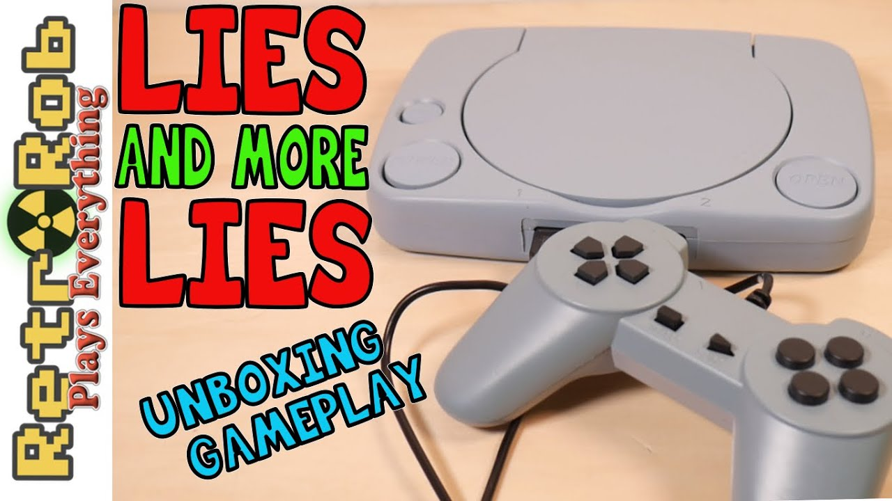Fake Playstation Famiclone Unboxing, Gameplay  and Thoughts: The Super 8-Bit!
