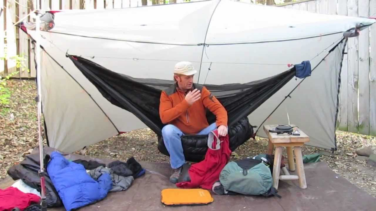 shug u0027s backpack hammock load for a 21   trip   part 1   youtube  rh   youtube