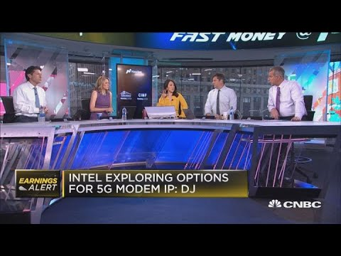 Intel taking down semi stocks and the whole group could be about to crack