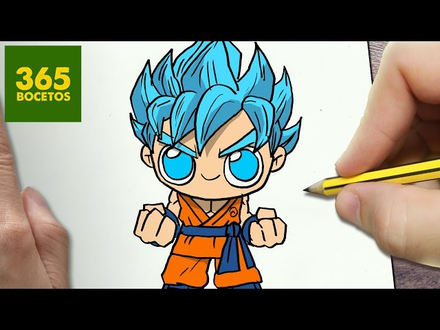 Hola Gente Aqui Les Traigo Otro Dibujo Kawaii Esta Vez Sobre Goku