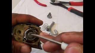 BMW E46 Door Lock Tumbler Repair DIY Part 2 of 3