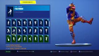 This guy has the galaxy skin and the next fortnite dance