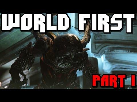 World First King's Fall Full Raid Part 1