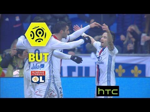 But Mathieu VALBUENA (28') / Olympique Lyonnais - Stade Rennais FC (1-0) -  / 2016-17