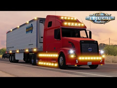American Truck Simulator - Evening Trip to Grand Canyon