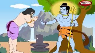 Arjun Fights Shiva | Lord Shiva Stories in English | Shiv Parvati Miracles | Shiva Tandav