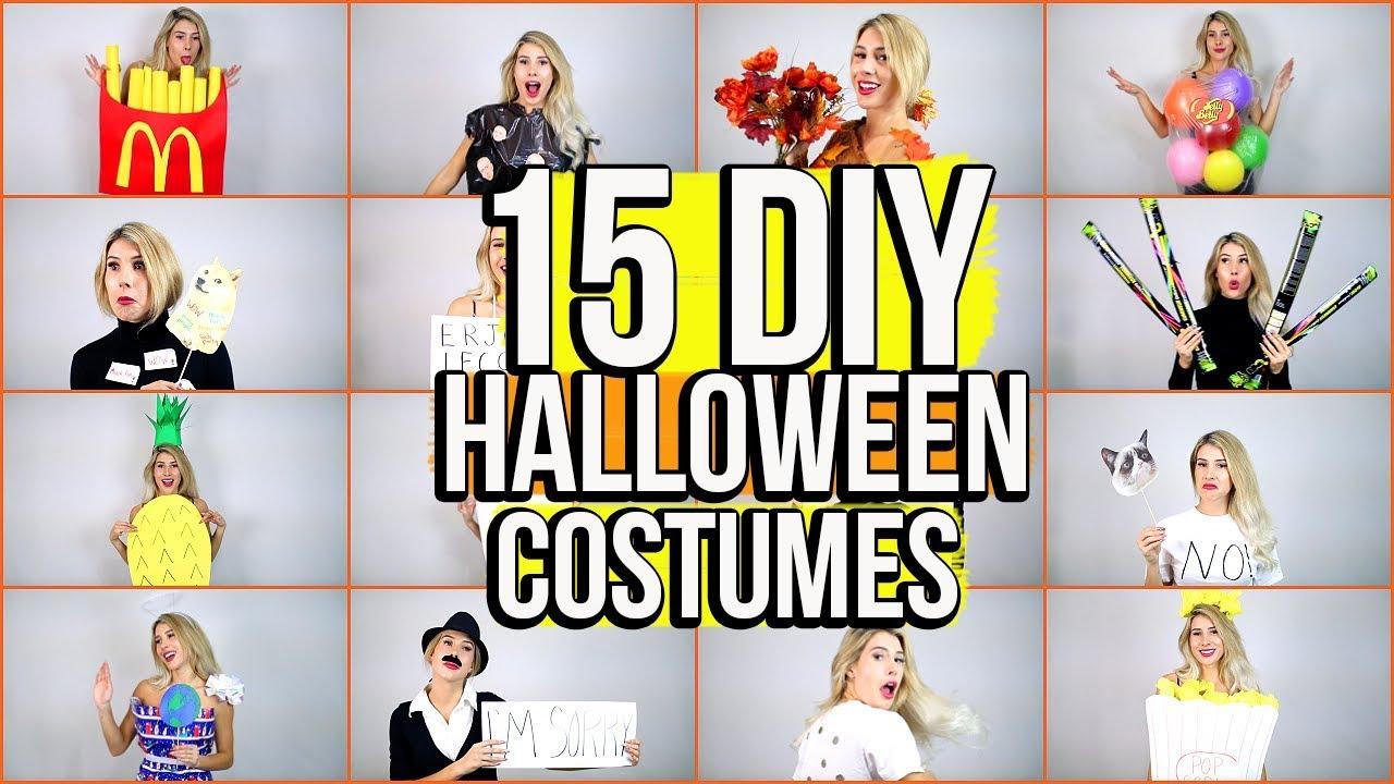 12 Last-Minute DIY Halloween Costume Ideas