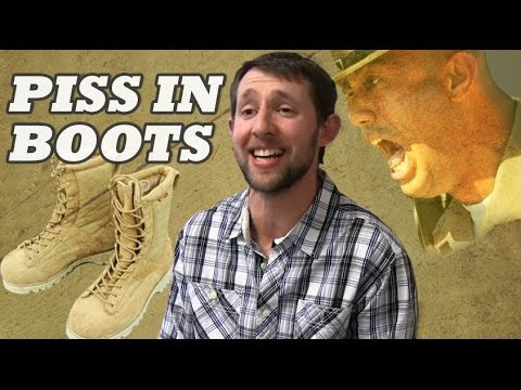 Piss and boots